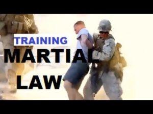 martial law training